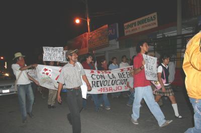 La Otra en el Sur en solidaridad con Atenco